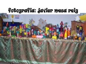 belenreciclado1javiermesareig 300x225 Belen reciclado y solidario para las navidades del 2008/2009