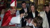 vista previa del artículo Bautismo de San Vicente en la Iglesia de San Esteban