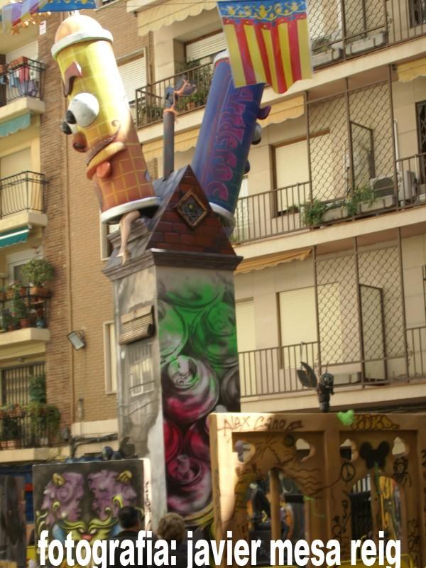 fallagrafiti1javiermesareig La Falla del Grafiti 2009