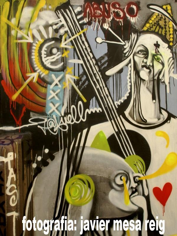 fallagrafiti2javiermesareig La Falla del Grafiti 2009