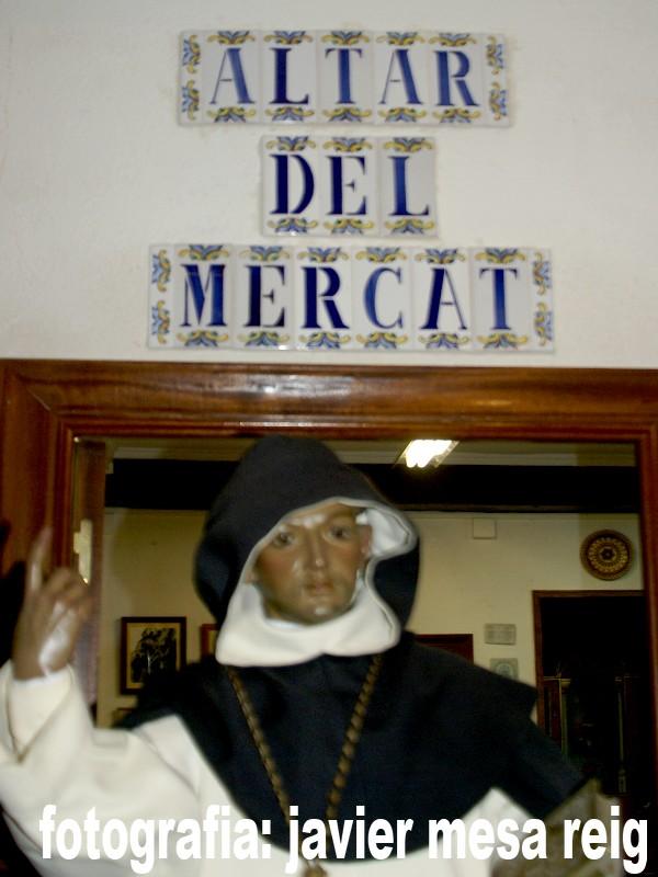 sanvicente1javiermesareig Tradición, Cultura y Peculiaridades del Altar del Mercat en las fiestas vicentinas