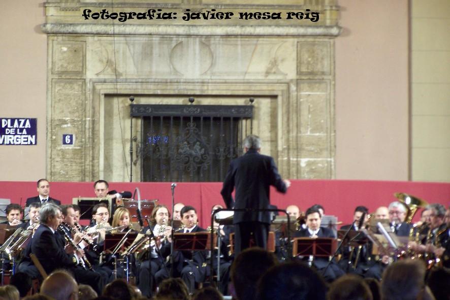 74458 concierto1javiermesareig Concierto , Fuegos Artificiales y Dansá en la vispera de la festividad de la Virgen de los Desamparados
