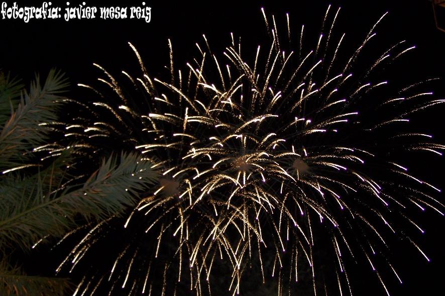 fuegosartificiales3javiermesareig Concierto , Fuegos Artificiales y Dansá en la vispera de la festividad de la Virgen de los Desamparados