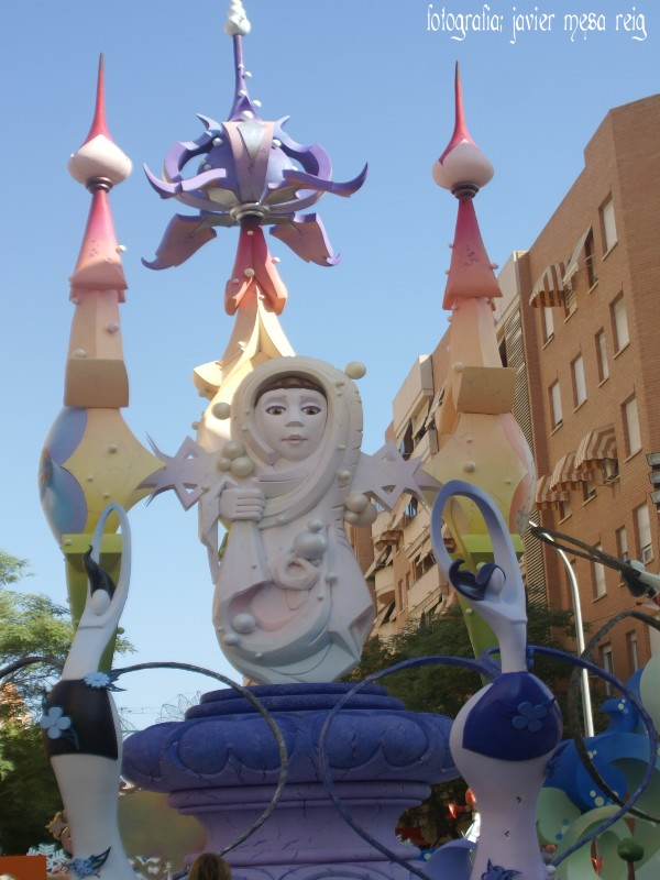 foto3javiermesareig5 Hoguera Gran Via   La Cerámica 2009