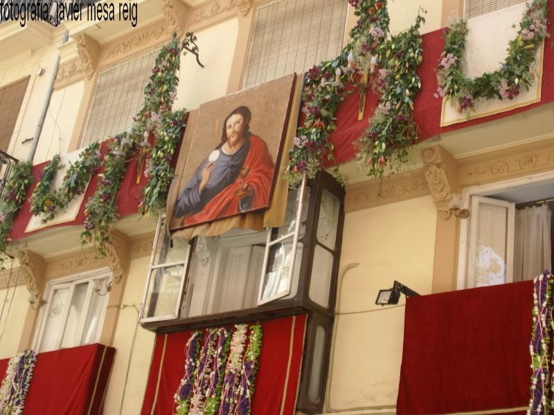 foto7javiermesareig Valencia engalana sus balcones por la Festividad del Corpus