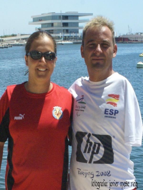ganadores1javiermesareig Asi son los ganadores de la XVII Travesia a nado del Puerto de Valencia