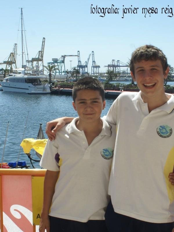 ganadores3javiermesareig Asi son los ganadores de la XVII Travesia a nado del Puerto de Valencia