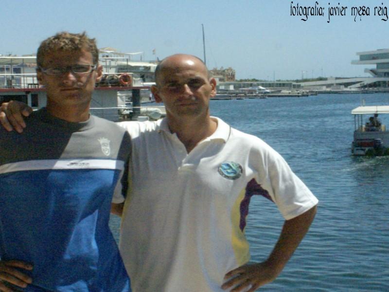 ganadores5javiermesareig Asi son los ganadores de la XVII Travesia a nado del Puerto de Valencia