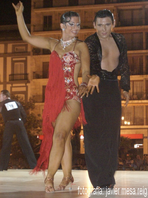 salonbaile1javiermesareig II Concurso de Bailes de Salon Feria de Julio