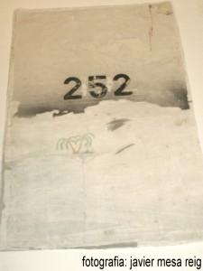 bancajaescultura1javiermesareig 225x300 El arte de la Celda 252 de la carcel modelo de Valencia