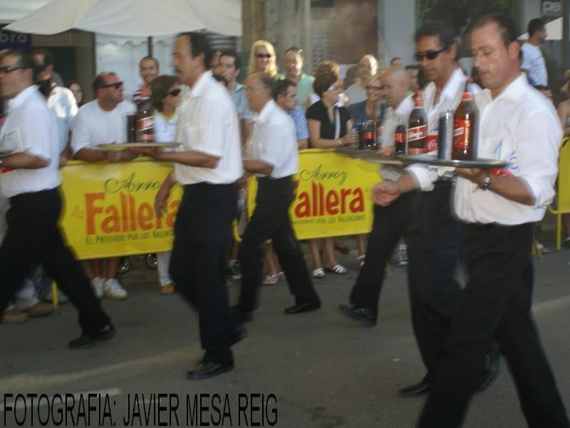 foto1javiermesareig13 Espectacular XIII Carrera de Camareros de Xativa