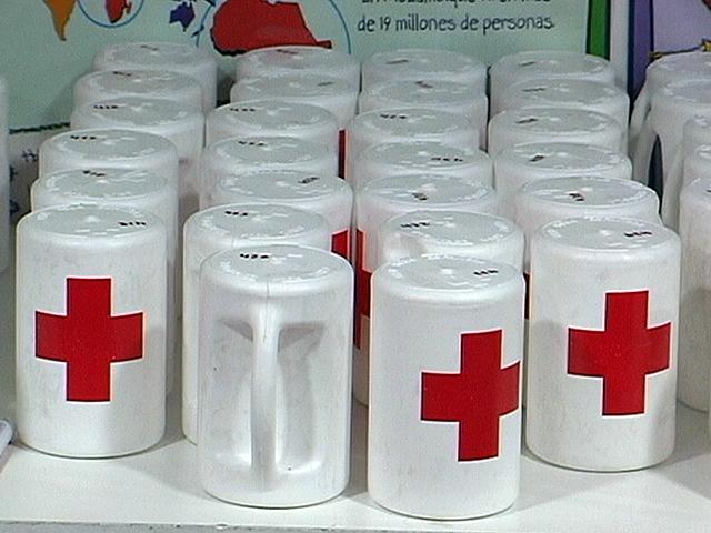 hucha Cruz Roja