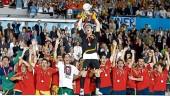 vista previa del artículo Valencia celebra el triunfo de La Roja