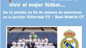 vista previa del artículo Gana en Facebook un viaje para ver el Villarreal Real Madrid