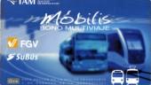 vista previa del artículo Tarjeta Multitítulo de transporte público