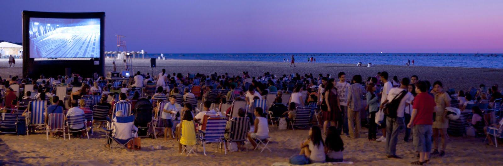 Cine en la playa 2017