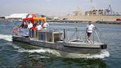 vista previa del artículo Las embarcaciones «Pelícano» mantienen limpia el agua de nuestra costa