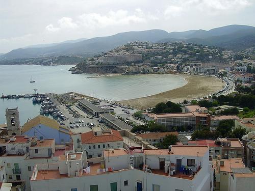 Vista de Peñiscola