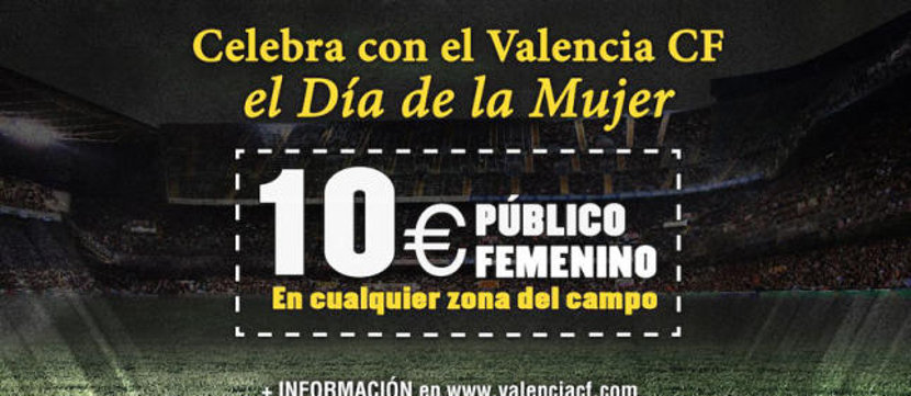 Valencia CF dia de la Mujer