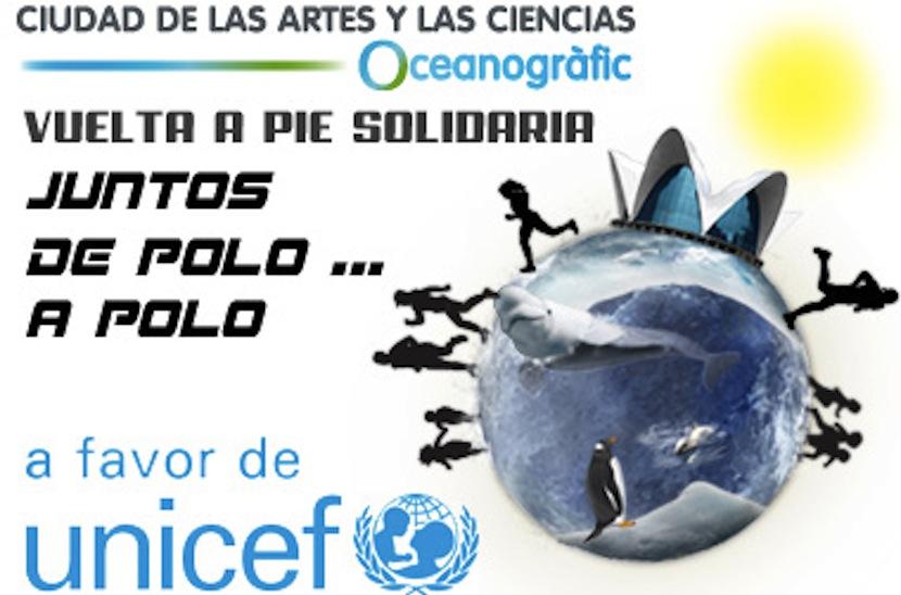 Acción solidario Juntos de Polo a Polo