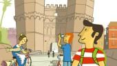 vista previa del artículo Nueva guía turística para recorrer la ciudad en bicicleta