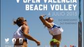 vista previa del artículo V edición del Open Valencia Beach, con concurso de castillos de arena
