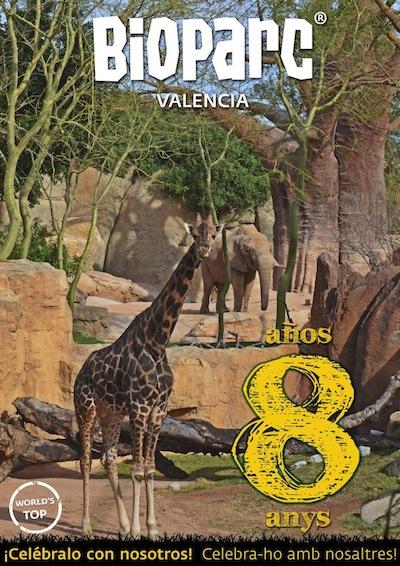 octavo aniversario de bioparc