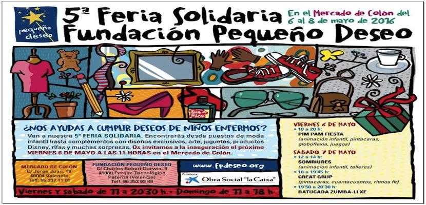 feria solidaria Pequeño Deseo