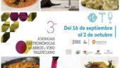 vista previa del artículo III Jornadas del arroz y vino valenciano